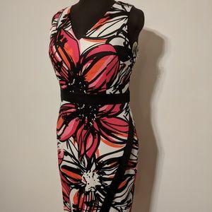 Maggy London v-neck Sheath Dress